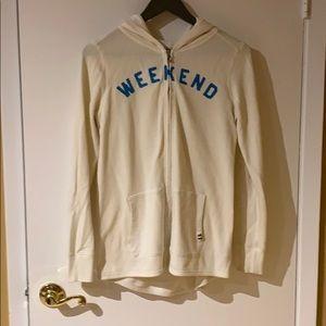 GAP Oversized cream/white hoodie Size XS